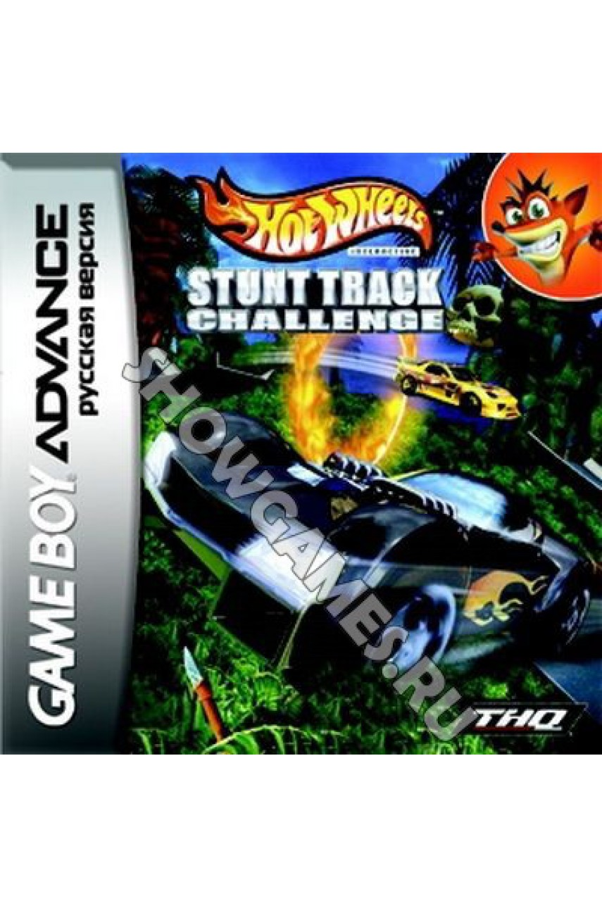 Hot Wheels  Stunt Track Chall  [Game Boy]