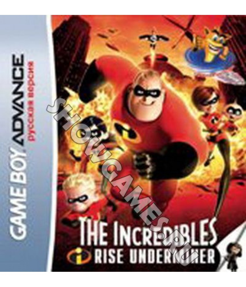 Incredibles: Rise of the Underminer  (Русская версия)  [GBA]