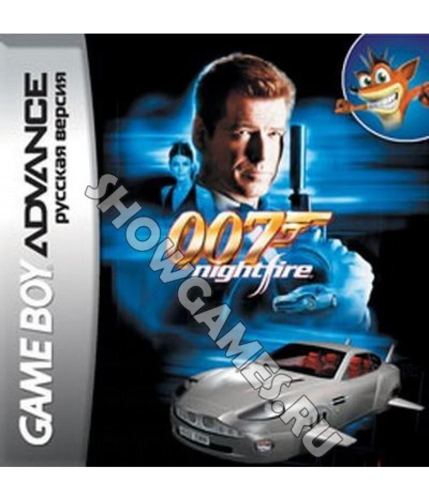 James Bond 007: Nightfire   (Русская версия) [GBA]