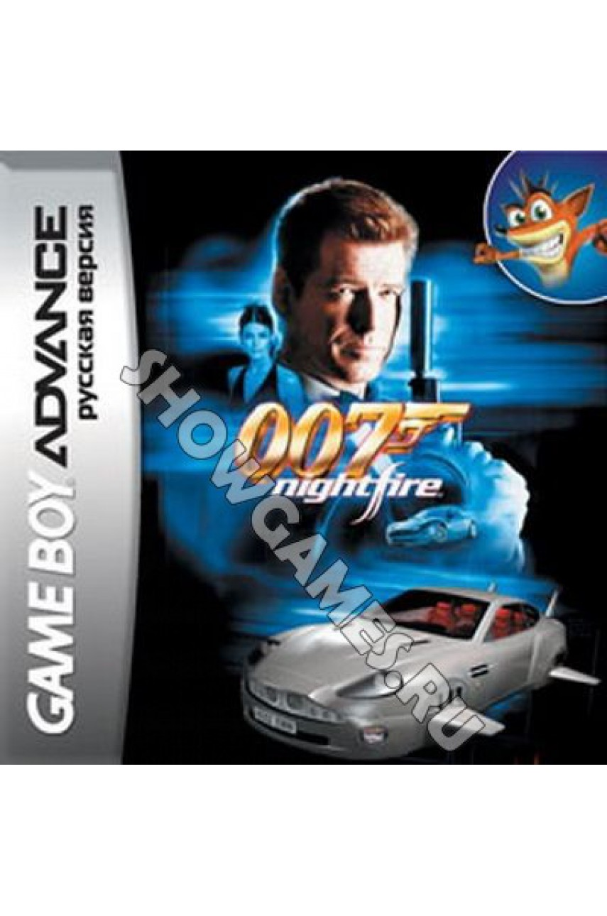 James Bond 007: Nightfire   (Русская версия) [GBA]
