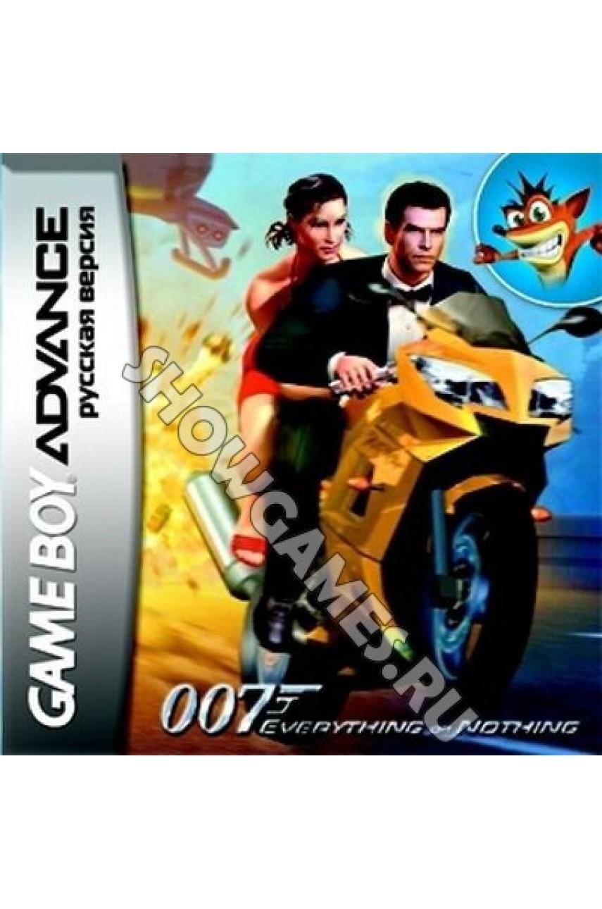 James Bond 007: Everything or Nothing  (Русская версия)  [GBA]