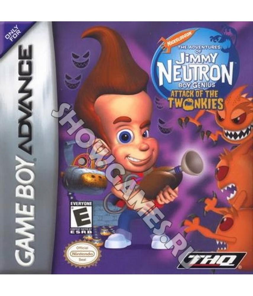 Jimmy Neutron Boy Genius Attack of the Twonkies (Русская версия)  [GBA]
