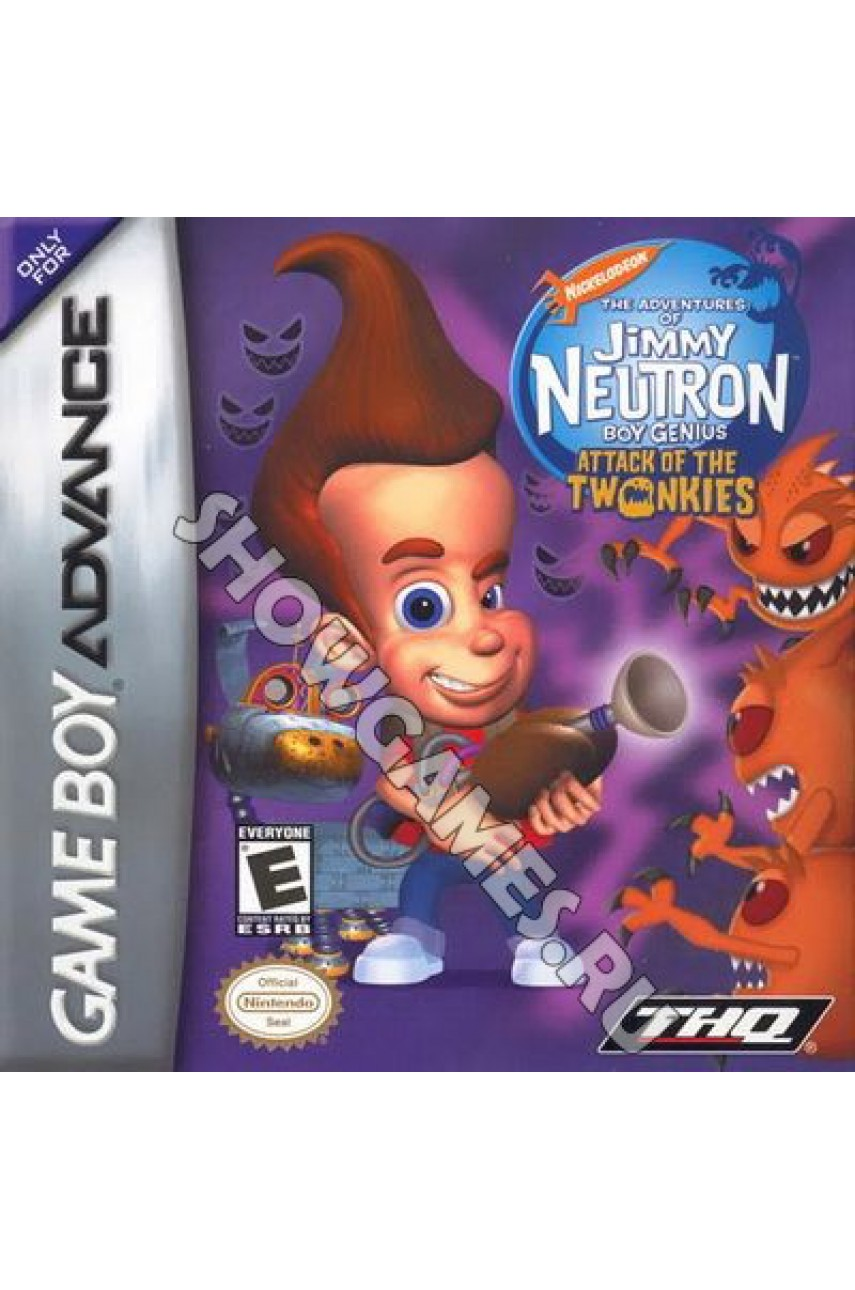 Jimmy Neutron Boy Genius Attack of the Twonkies (Русская версия)  [GBA]