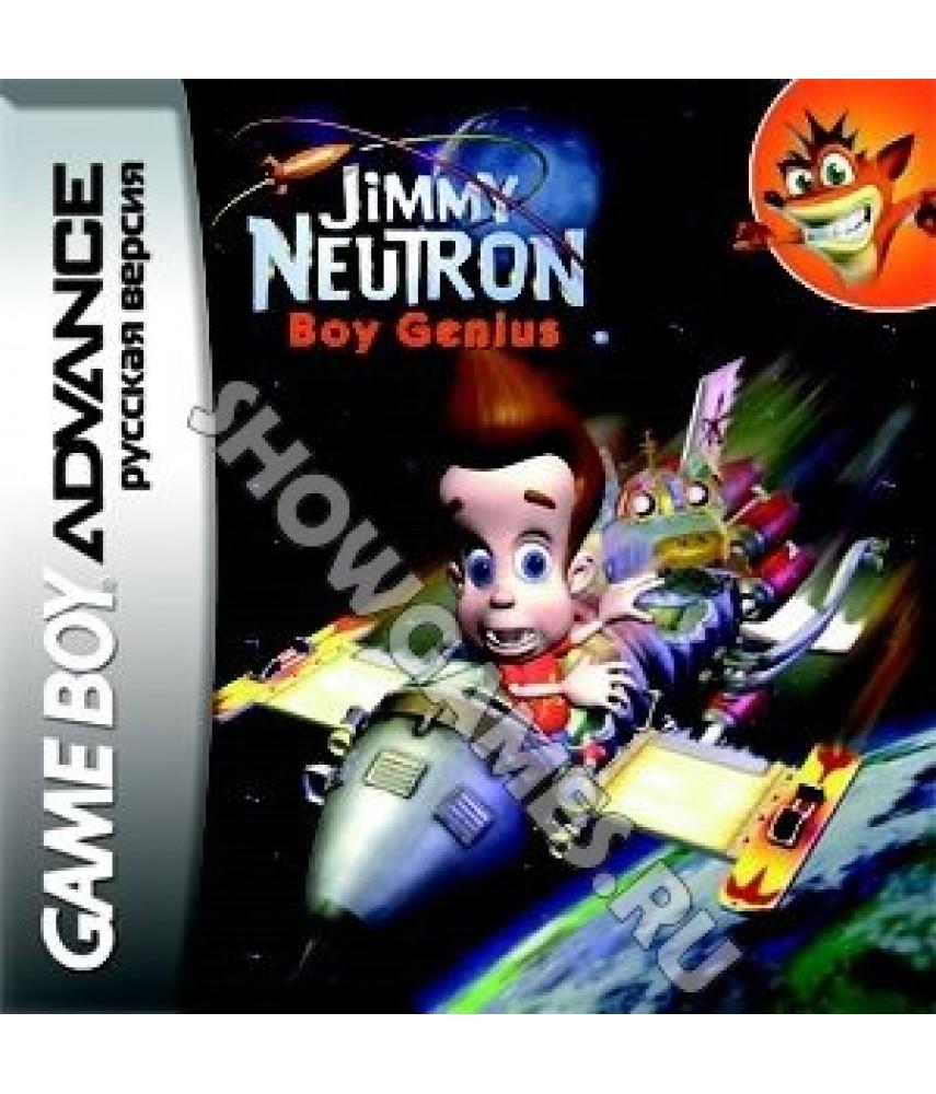 Jimmy Neutron Boy Genius [GBA]