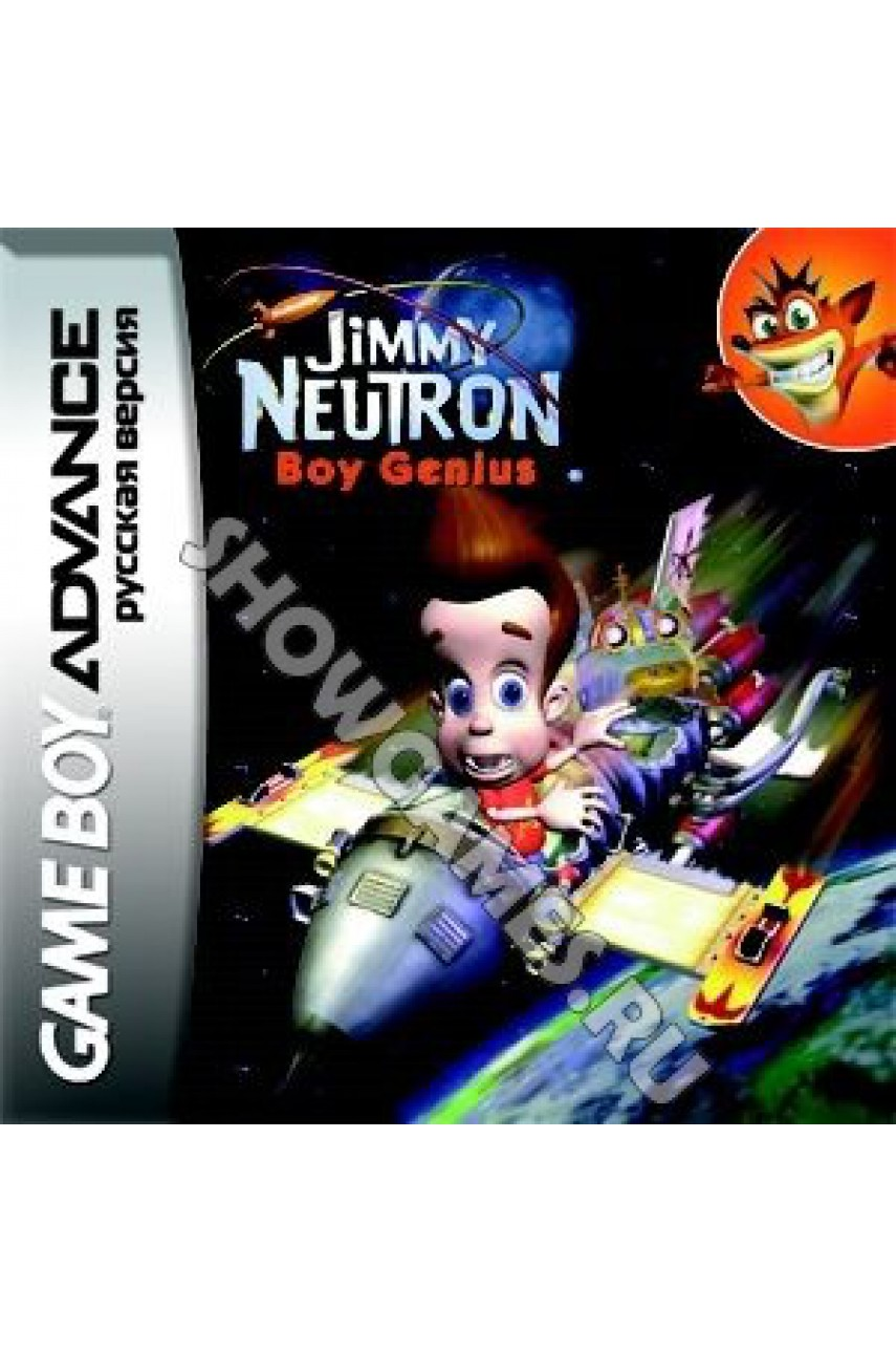 Jimmy Neutron Boy Genius [GBA]