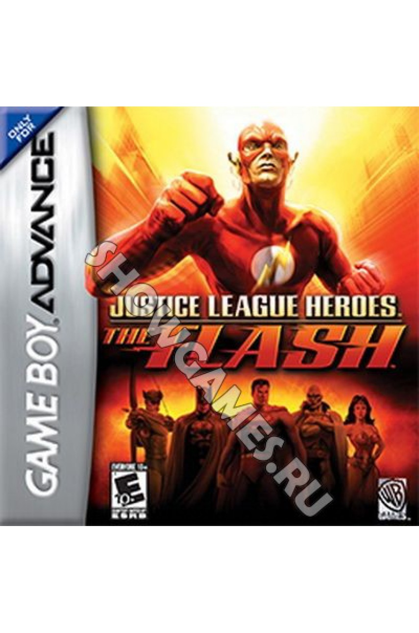 Justice League Heroes: The Flash   (Русская версия)  [GBA]