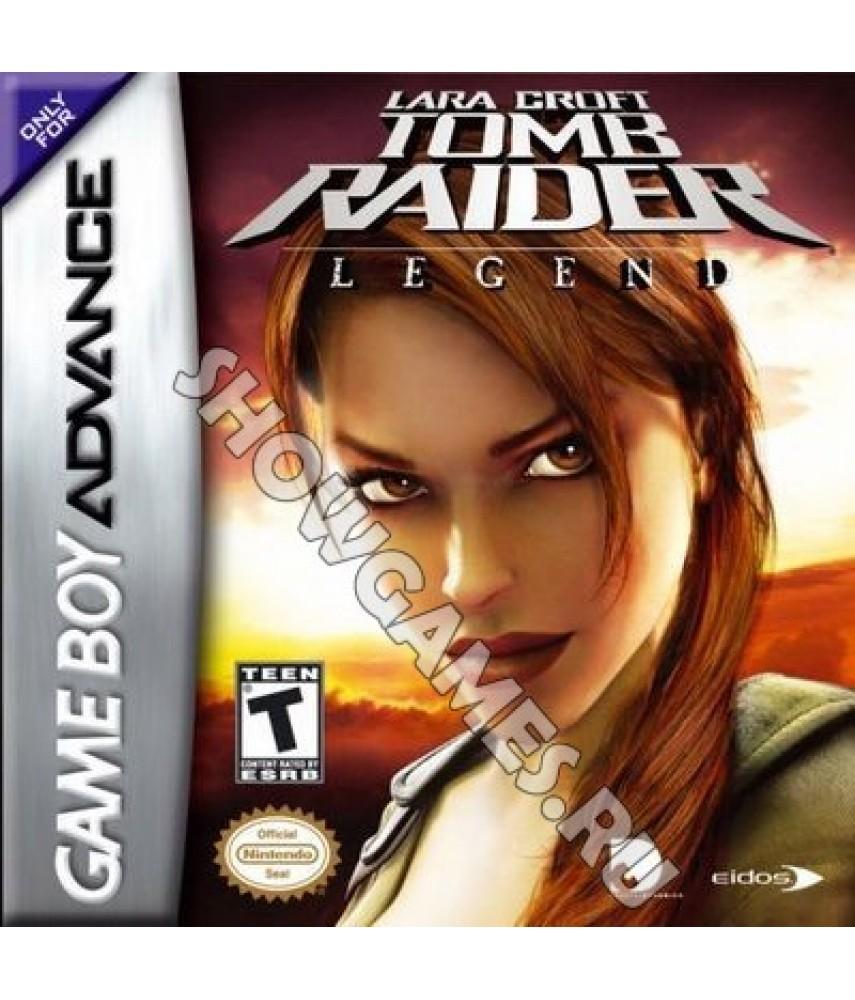 Lara Croft Tomb Raider: Legend [GBA]