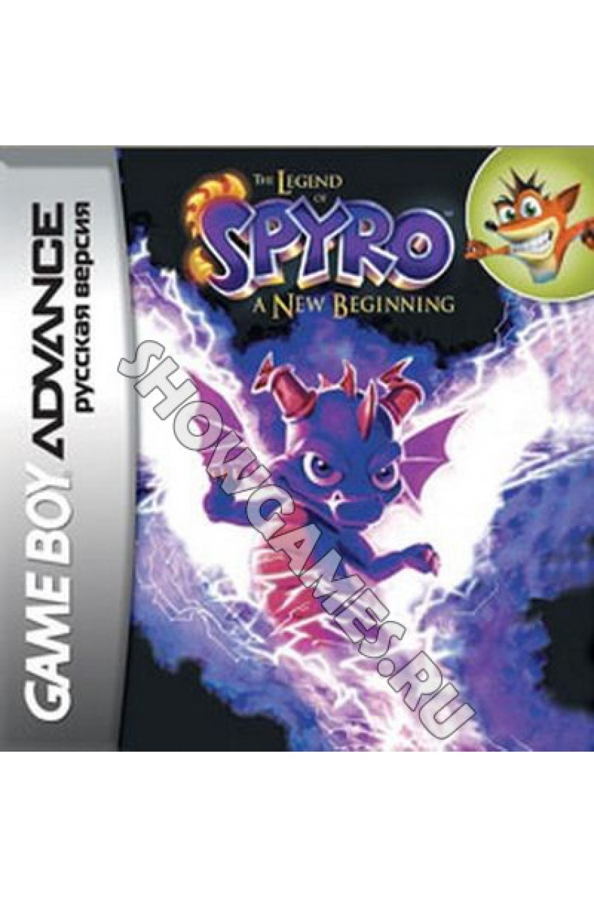 Legend of Spyro: A New Beginning [Game Boy]