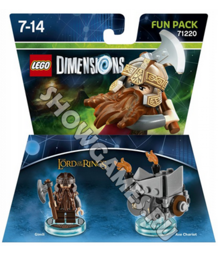 Lord of the Rings Gimli Fun Pack - LEGO Dimensions 71220