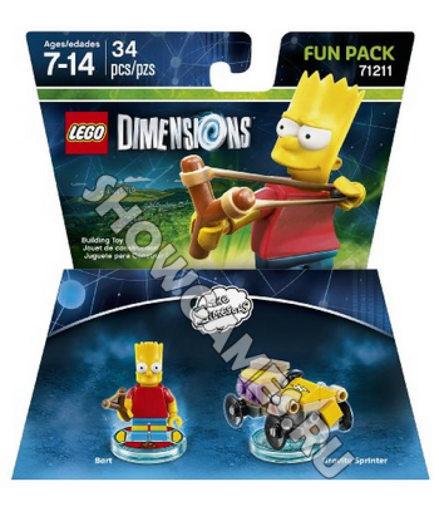Simpsons Bart Fun Pack - LEGO Dimensions 71211