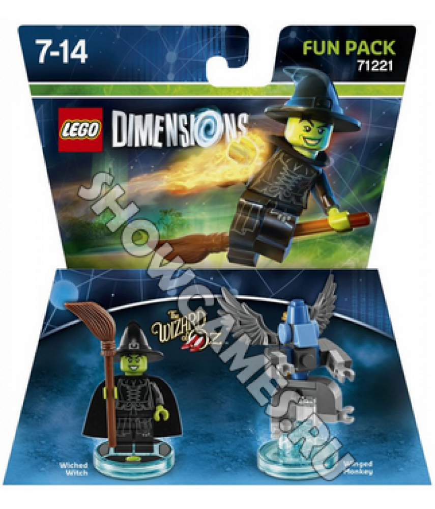 Wizard of Oz Wiched Witch Fun Pack - LEGO Dimensions 71221