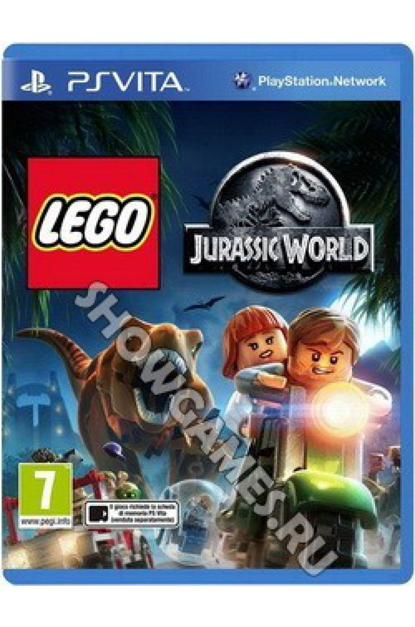 LEGO Мир Юрского периода (Jurassic Wordl) (Русские субтитры) [PS Vita]