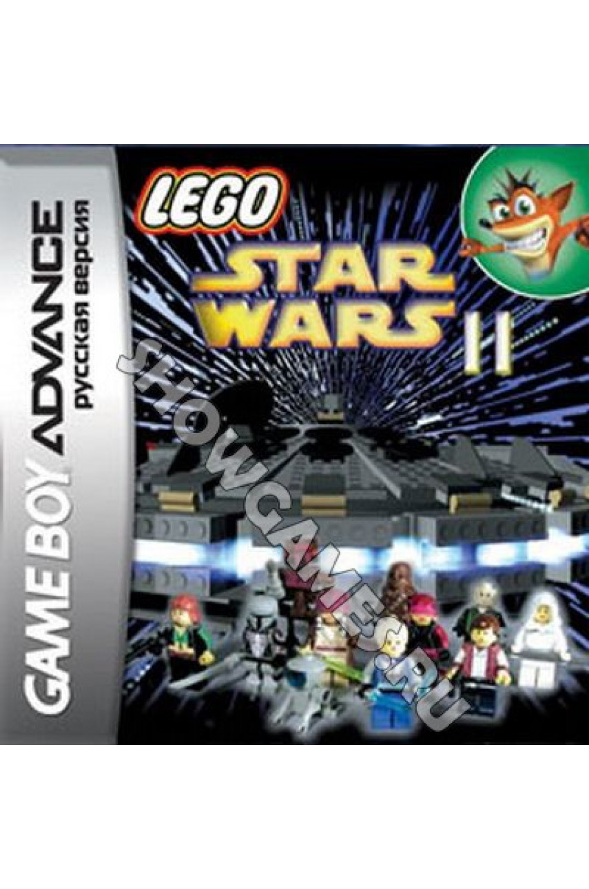 LEGO Star Wars II: The Original Trilogy    (Русская версия)  [GBA]