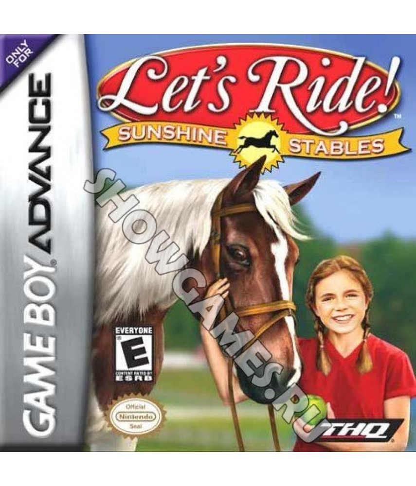 Let's Ride! Sunshine Stables  [GBA]