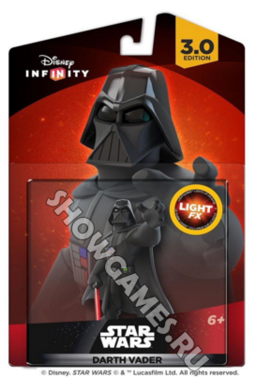 Disney Infinity 3.0 (Star Wars): Фигурка Light FX Дарт Вейдер [Dart Vader]