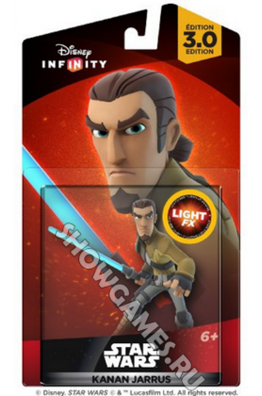 Disney Infinity 3.0 (Star Wars): Фигурка Light FX Канан Яррус [Kanan Jarrus]
