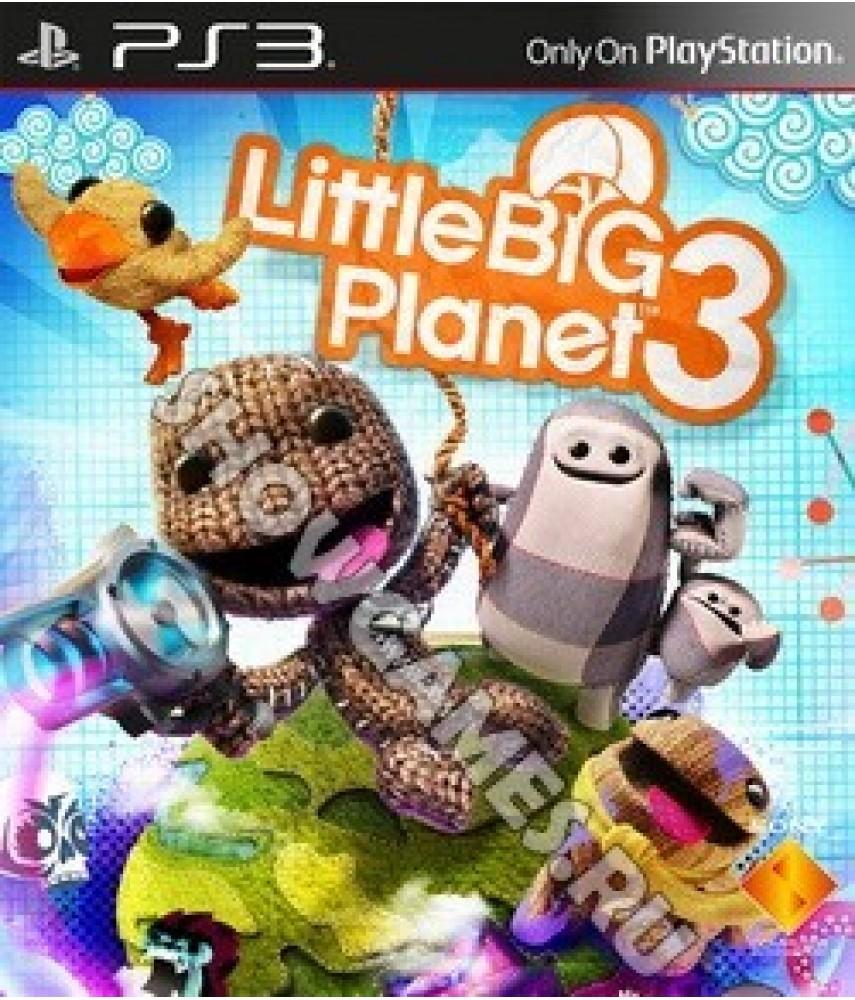 LittleBigPlanet 3 (Русская версия) [PS3]