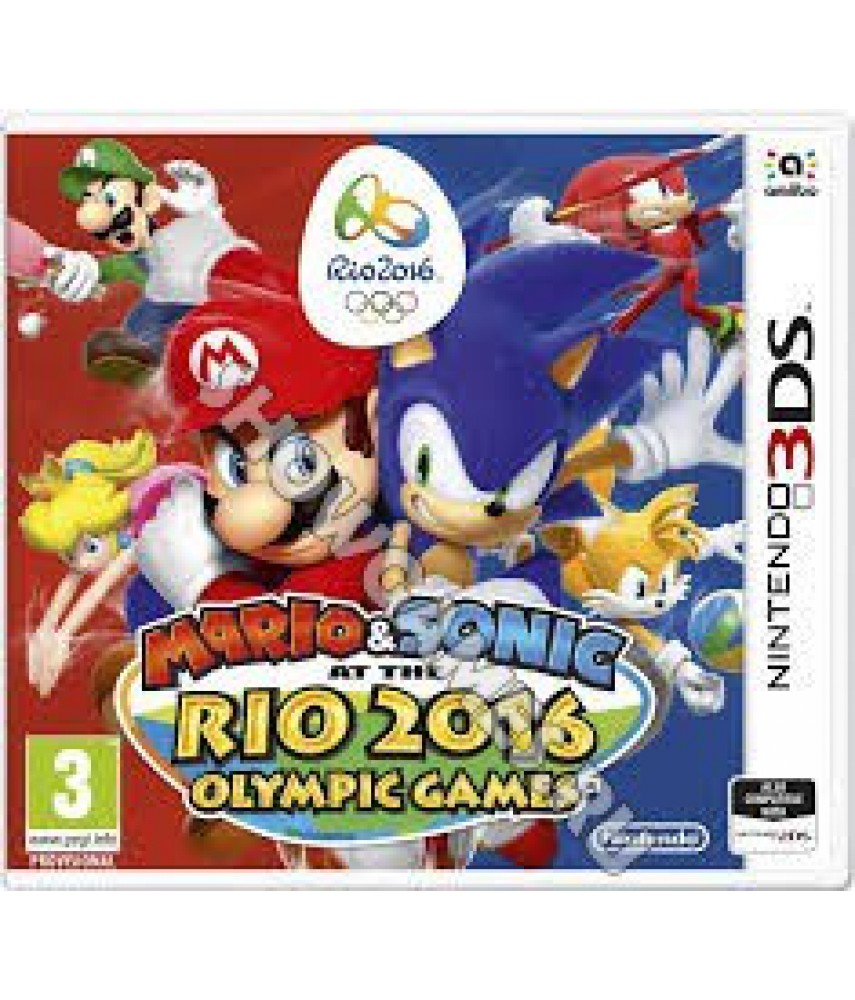 Mario and Sonic at Rio 2016 Olympic Games [3DS]