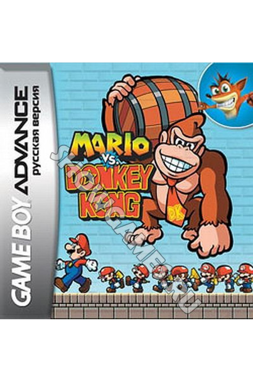 Mario vs Donkey Kong [Game Boy]