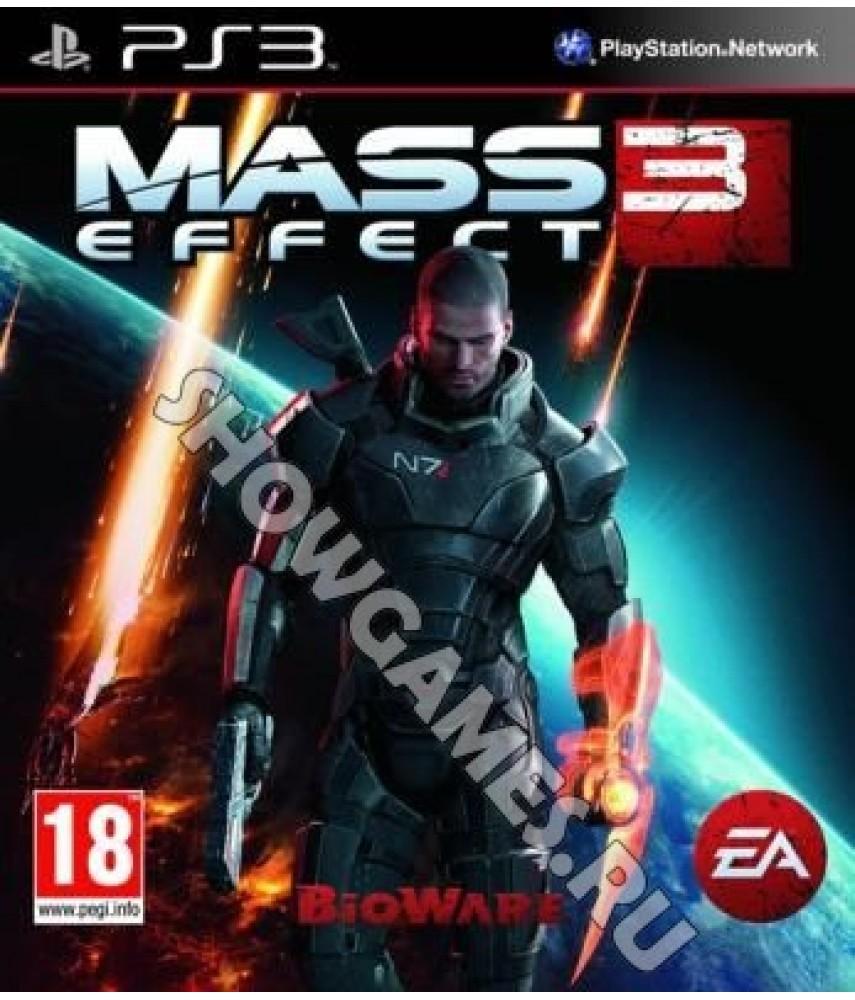 Mass Effect 3 (Русские субтитры) [PS3]