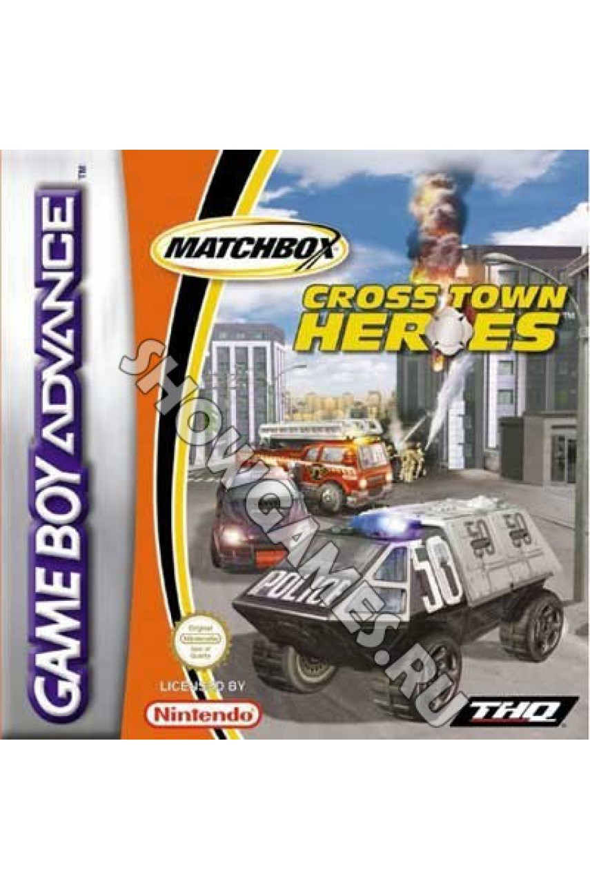 Matchbox Cross Town Heroes [Game Boy]