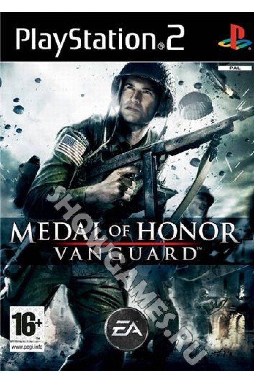 Medal of Honor: Vanguard [PS2] - Б/У