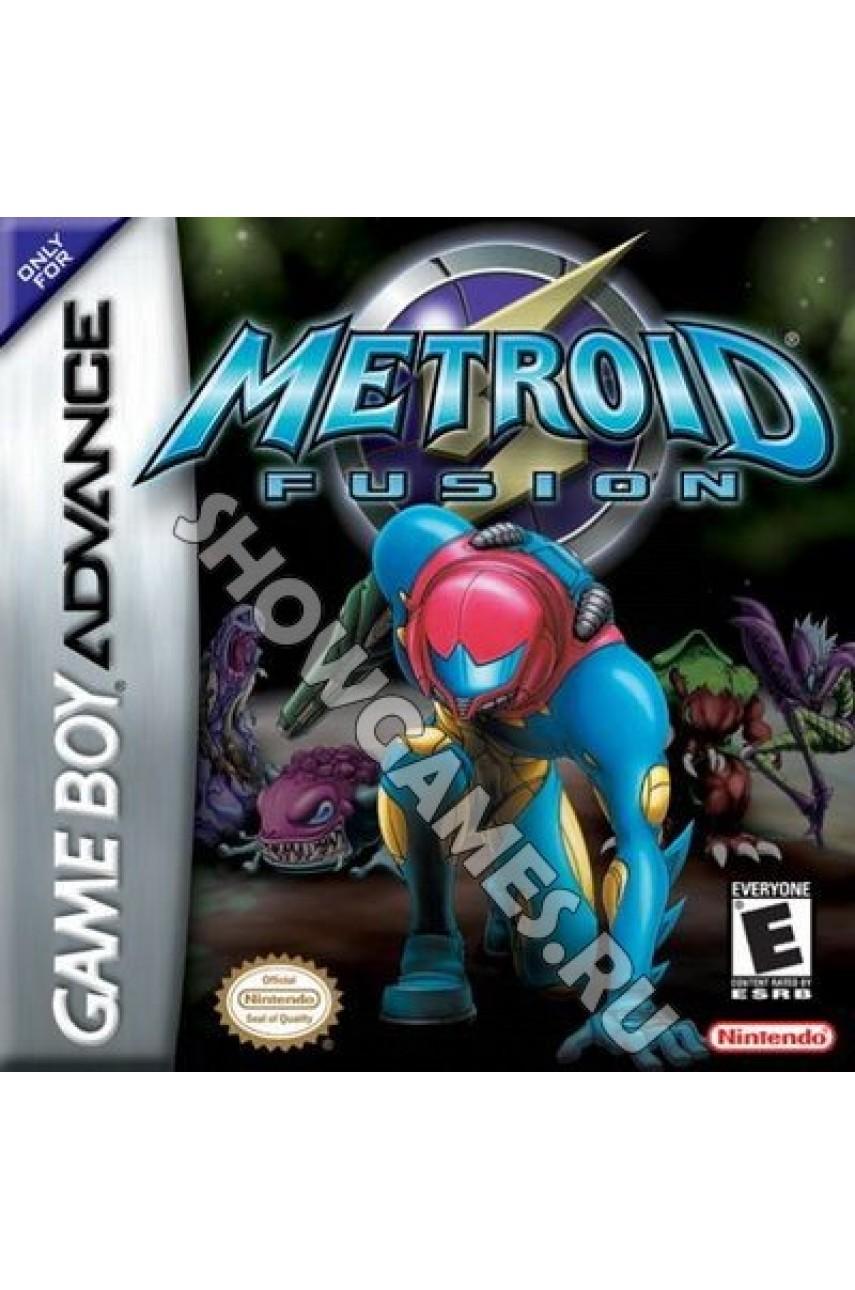 Metroid Fusion (Русская версия)  [Game boy]