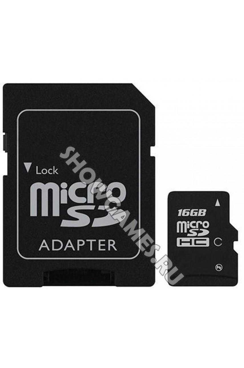 Карта памяти SD / MicroSD 16 GB (Original)