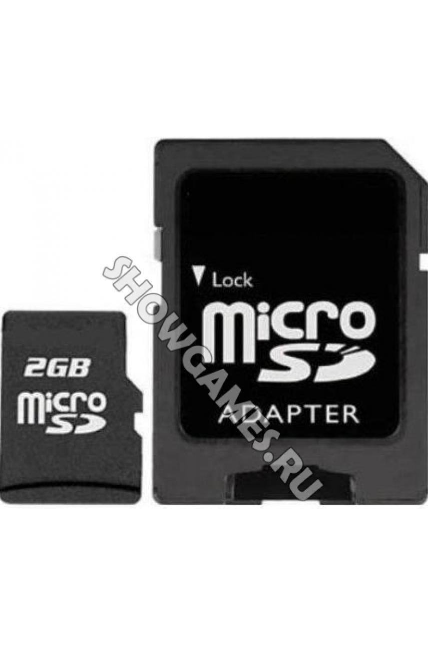 Карта памяти SD / MicroSD 2 ГБ (Original)