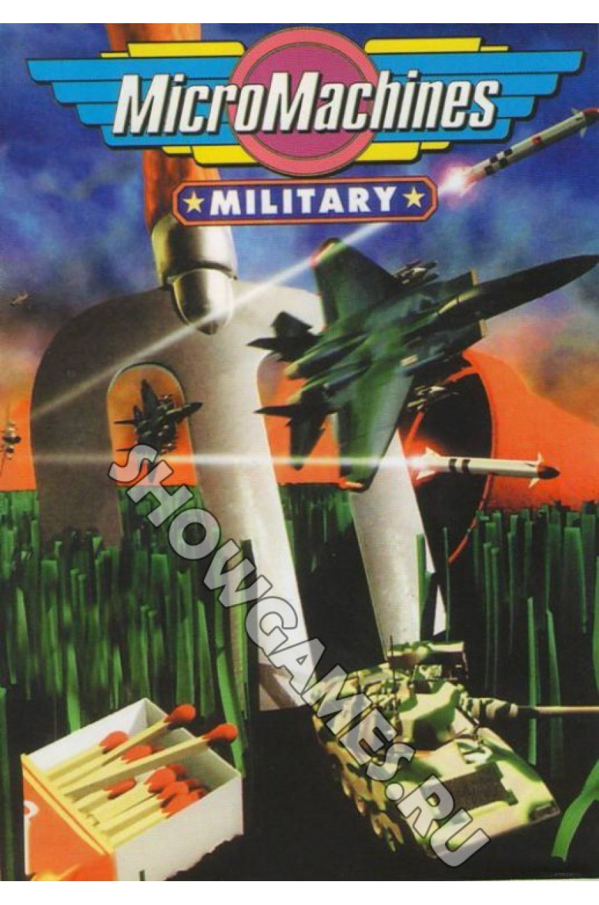 Micro Machines Military [Sega]