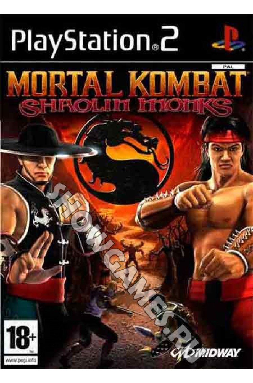 Mortal Kombat: Shaolin Monks [PS2]