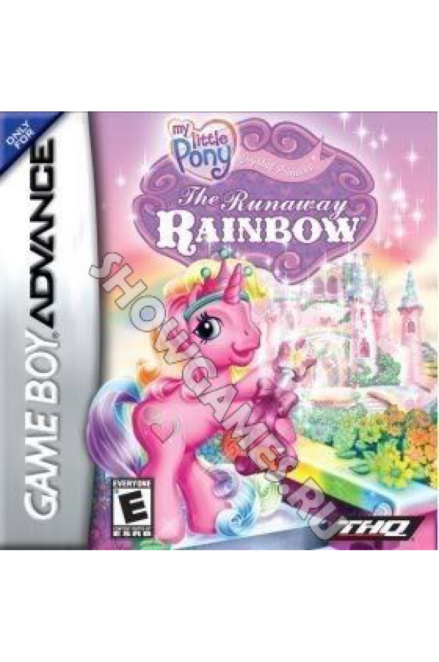 My Little Pony: Crystal Princess Runaway Rainbow (Русская версия)  [GBA]