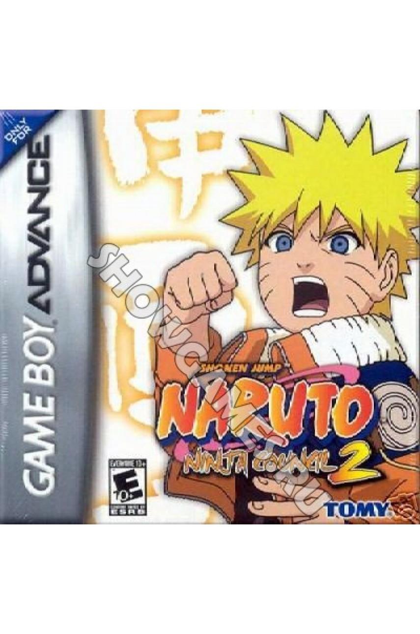 Naruto: Ninja Council 2 (Русская версия)  [GBA]