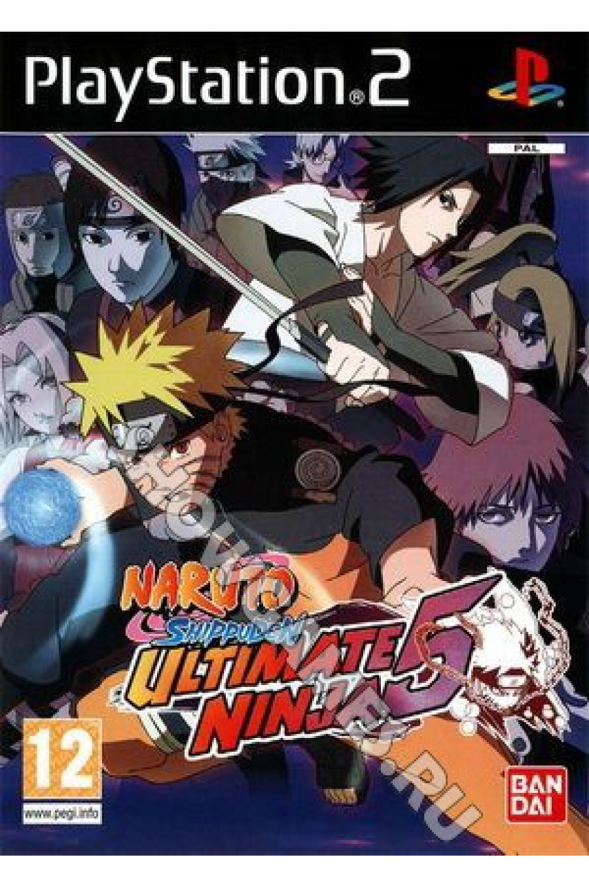Naruto Shippuden: Ultimate Ninja 5 [PS2]