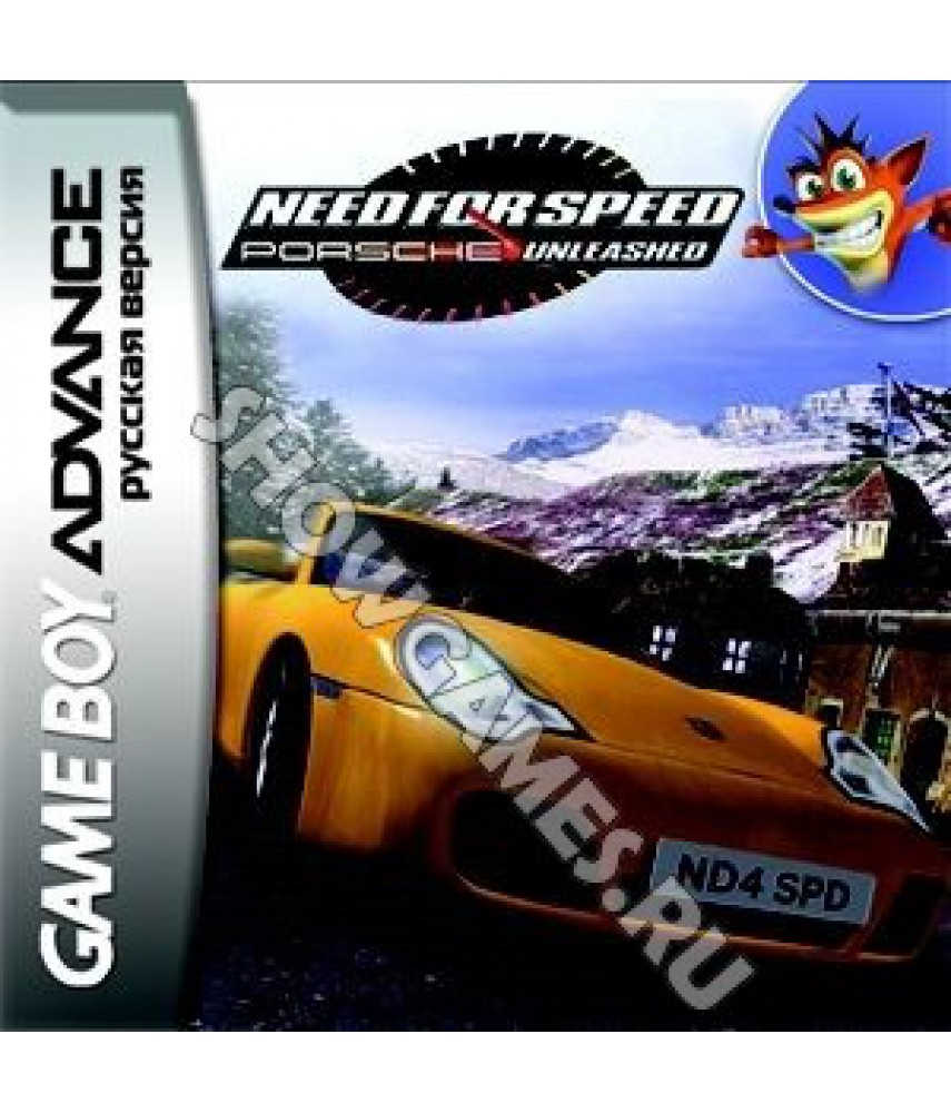 Need for Speed: Porsche Unleashed (Русская версия)  [GBA]