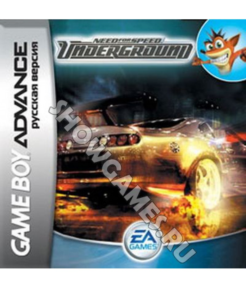 Need for Speed: Underground (Русская версия)  [GBA]