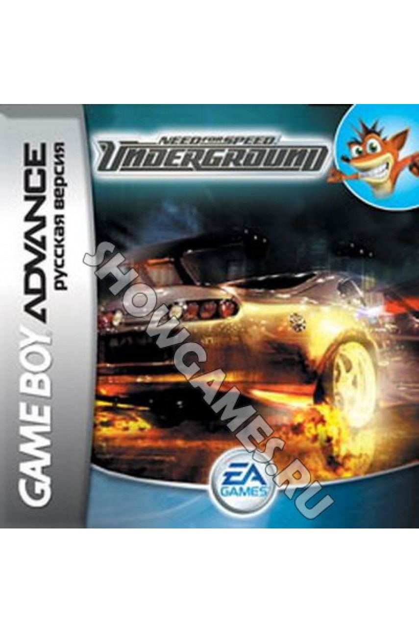 Need for Speed: Underground (Русская версия)  [GBA]