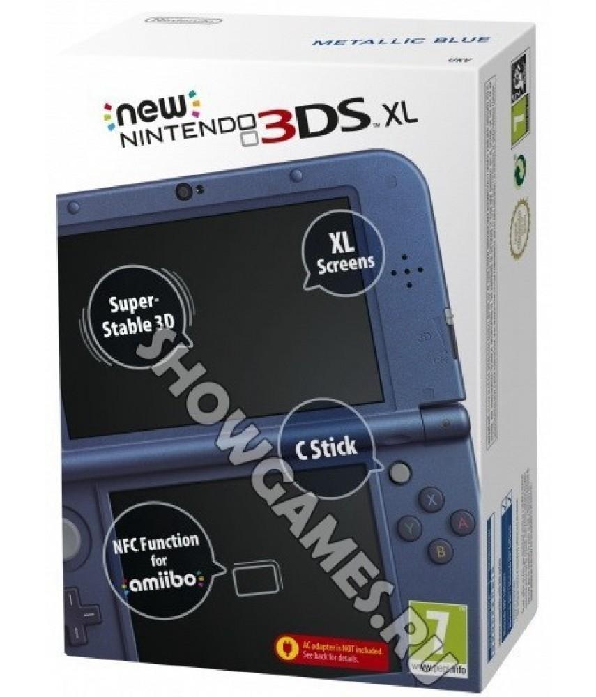 New Nintendo 3DS XL синий