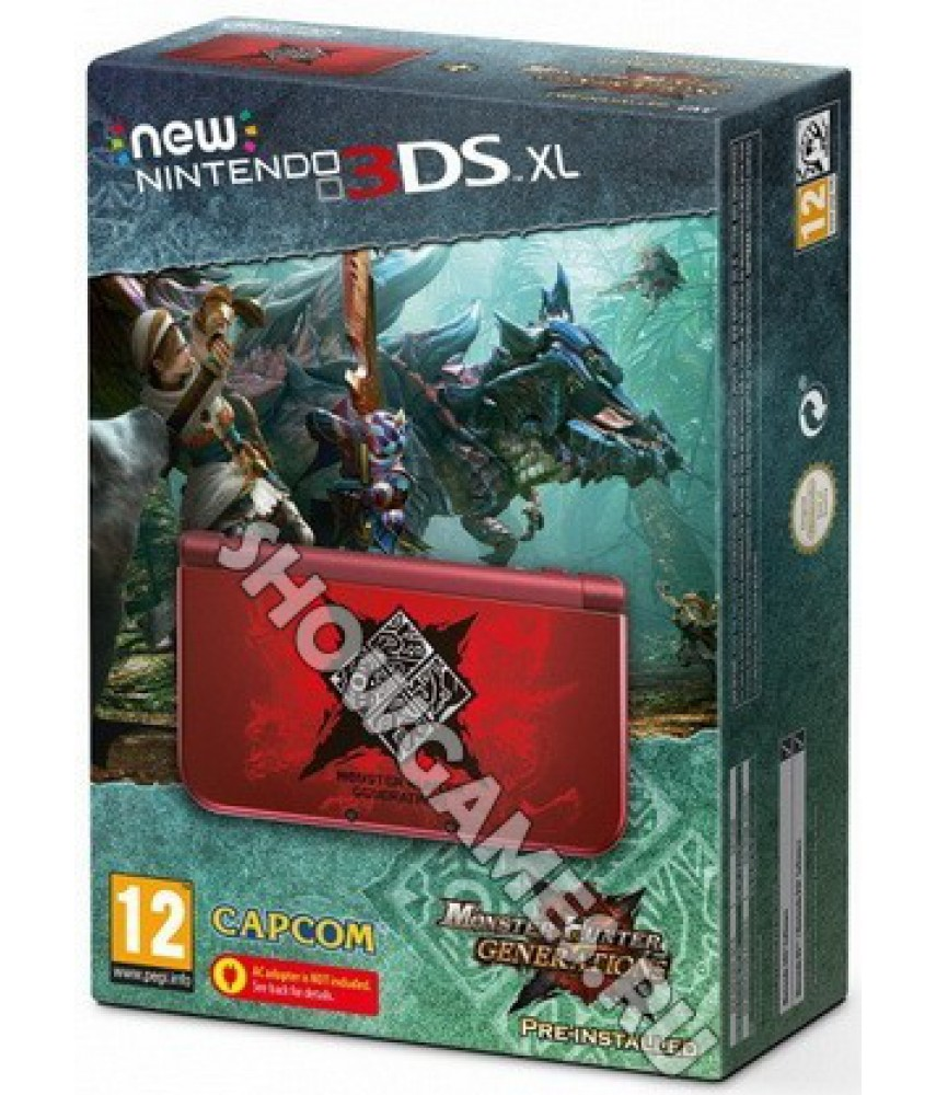 New Nintendo 3DS XL Monster Hunter Generations - Ограниченное издание