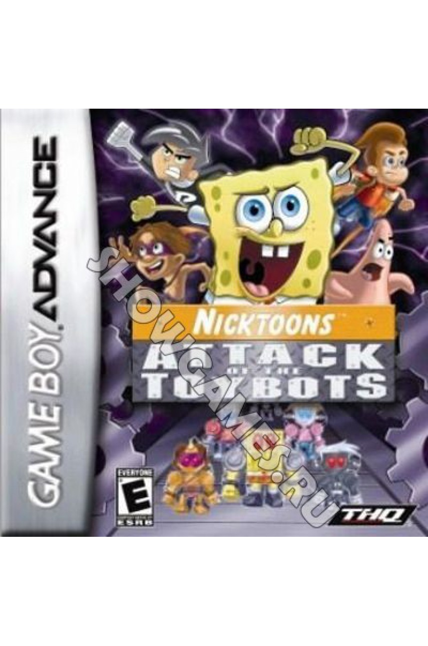 Nicktoons: Attack of the Toybots (Русская версия)  [GBA]