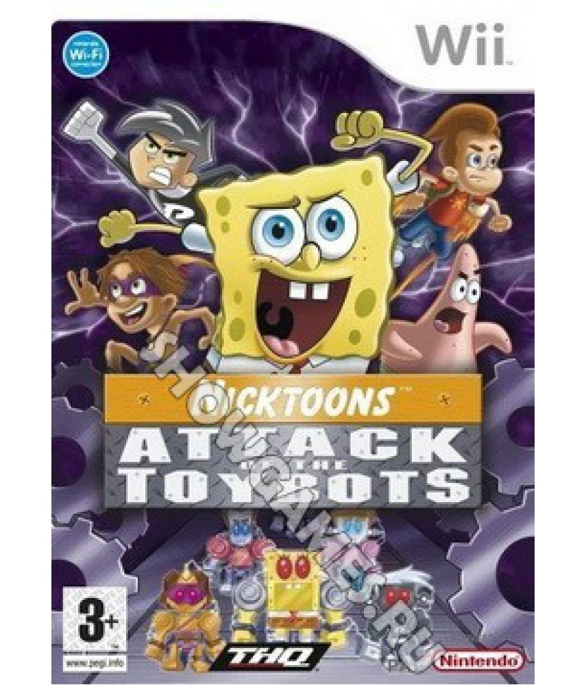 Spongebob and Friends: Attack of the Toybots [Wii]