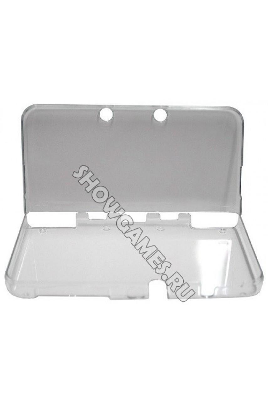 Прозрачный пластиковый чехол для New Nintendo 3DS