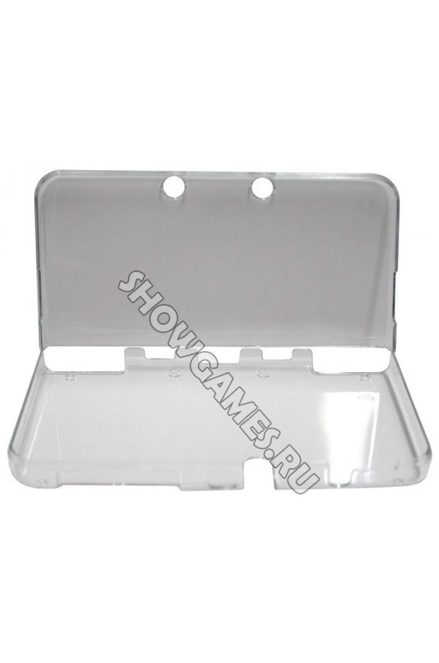 Прозрачный пластиковый чехол для New Nintendo 3DS XL