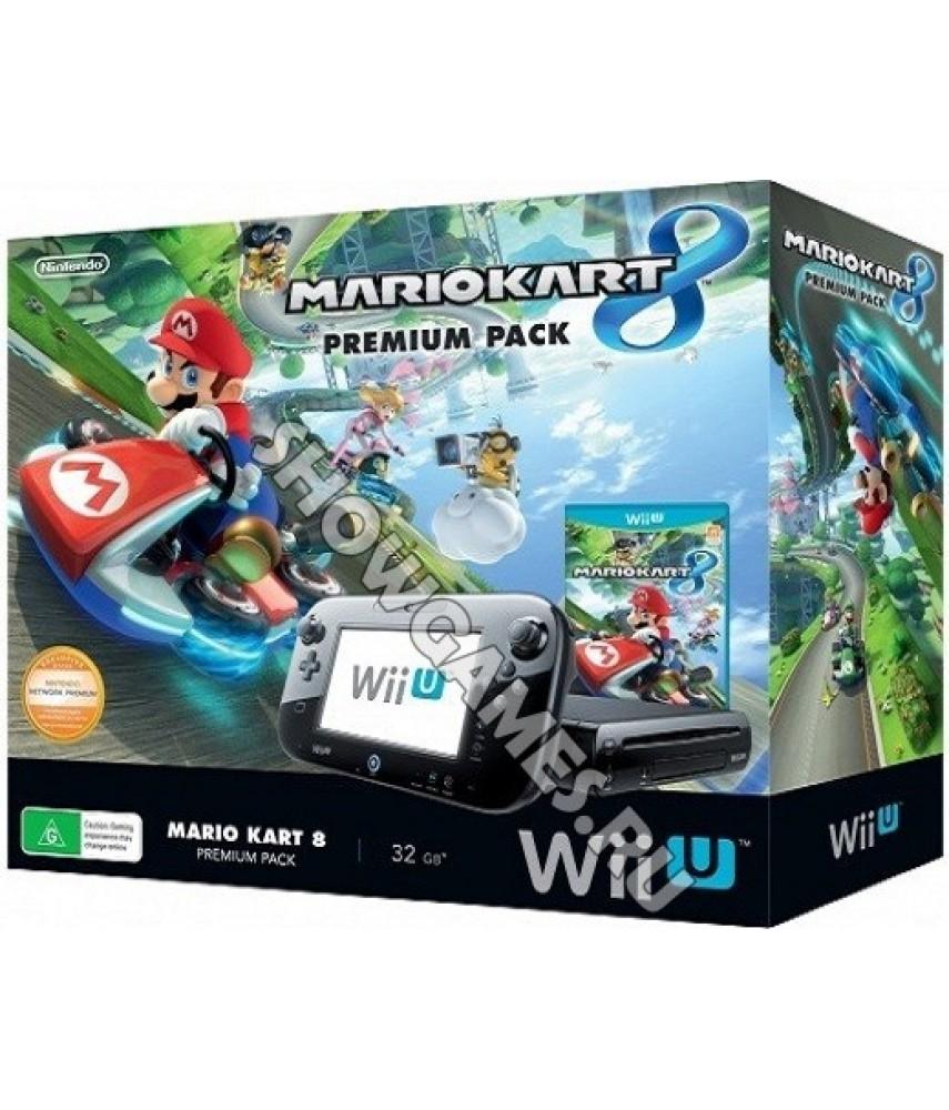 Nintendo Wii U 32GB Premium Pack + игра Mario Kart 8