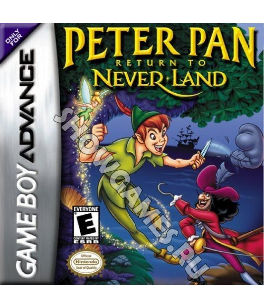 Peter Pan: Return to Never Land - Питер Пен Возвращение в Нетландию [GBA]
