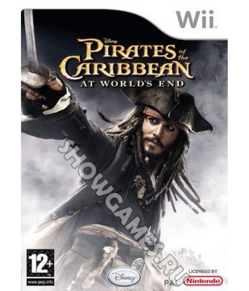 Pirates of Caribbean At World's End [Wii]