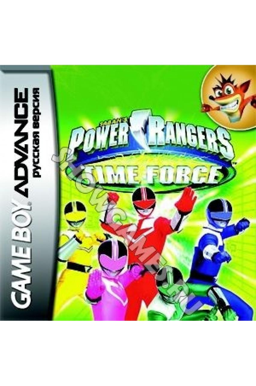 Power Rangers: Time Force (Русская версия) [GBA]
