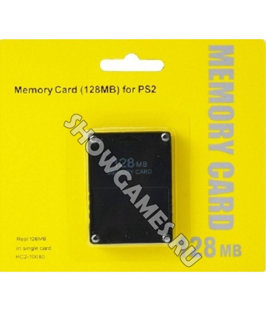 Карта памяти для PS2 128 Mb