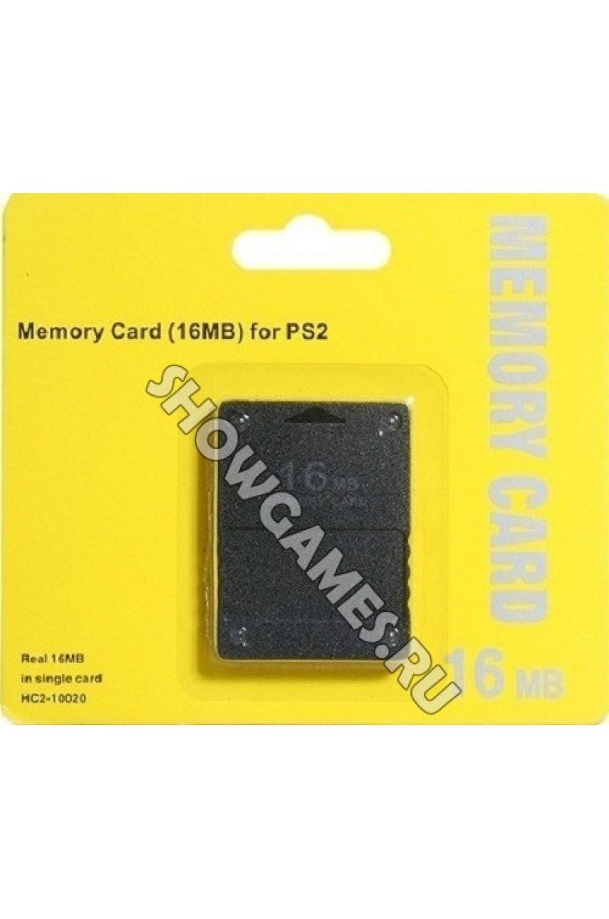Карта памяти для PS2 16 Mb