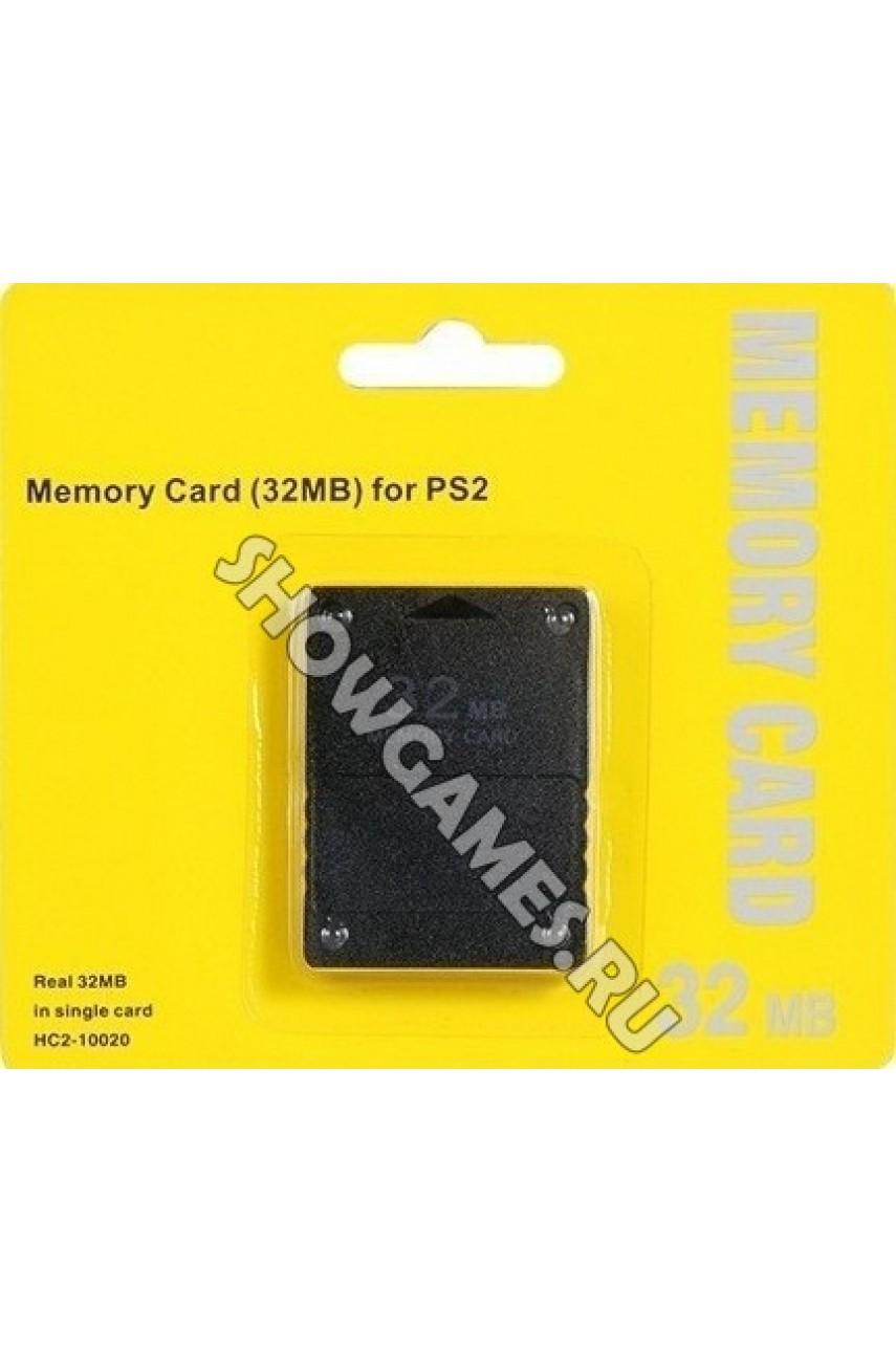 Карта памяти для PS2 32 Mb